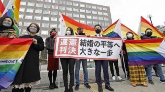 دادگاهی در ژاپن ممنوعیت ازدواج همجنسها را 'خلاف قانون اساسی' دانست