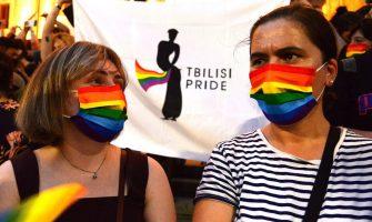حمایت شهروندان تفلیس از دگرباشان گرجستان